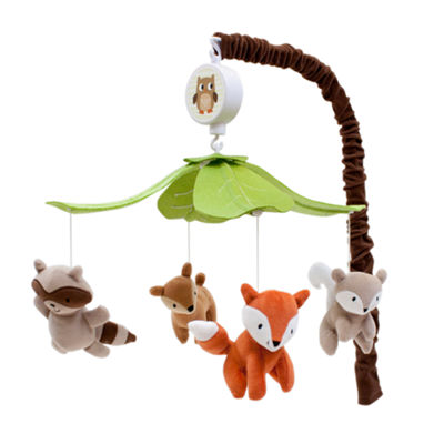 Lambs & Ivy Woodland Tales Forest Animal Musical Baby Mobile
