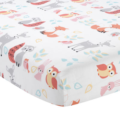 Lambs & Ivy Little Woodland Forest Animal 4-pc. Crib Bedding Set
