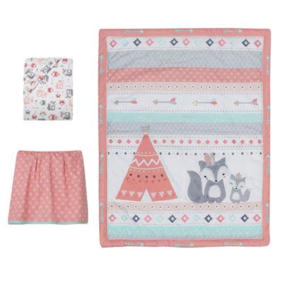 Lambs & Ivy Little Spirit 3-pc. Crib Bedding Set