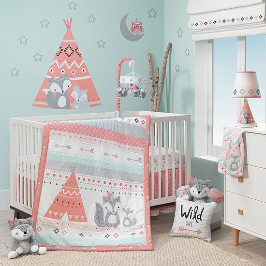 Lambs Ivy Little Spirit 3 Pc Crib Bedding Set