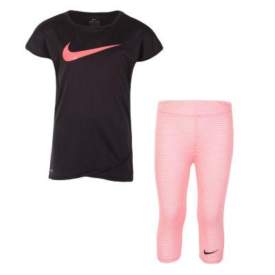 Nike 2-pack Logo Pant Set Girls