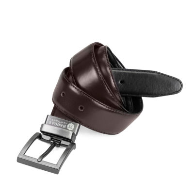 Haggar Mens Reversible Belt