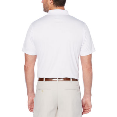 PGA TOUR Short Sleeve Tonal Polo Shirt