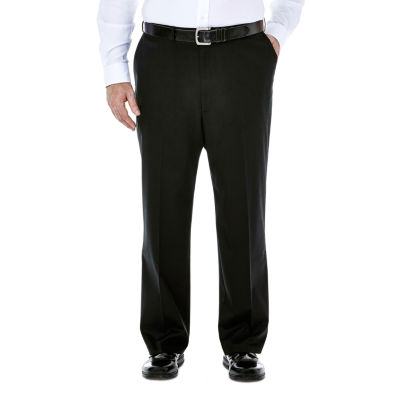 Haggar® Premium No Iron Classic-Fit Flat-Front Khakis - Big & Tall