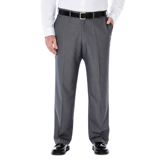 Haggar® Cool 18® No-Iron Flat-Front Pants – Big & Tall