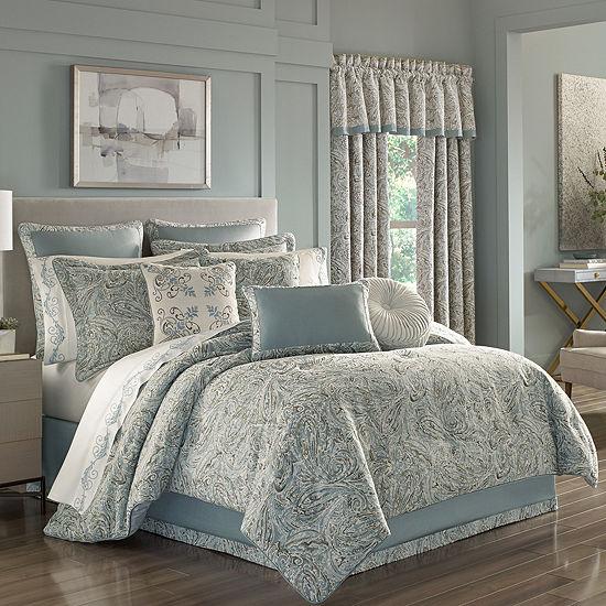 Queen Street Garrison 4-pc. Jacquard Heavyweight Comforter Set