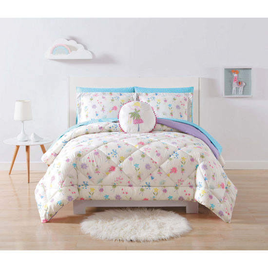 Laura Hart Kids Garden Fairies Comforter Set