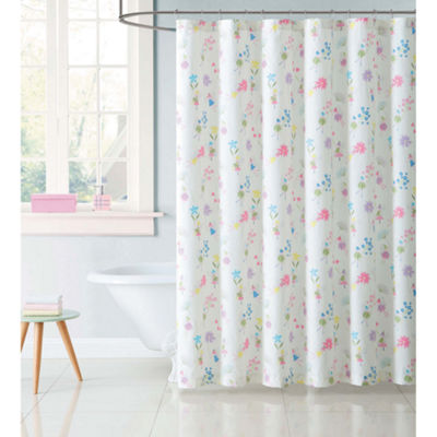 Laura Hart Kids Garden Fairies Shower Curtain