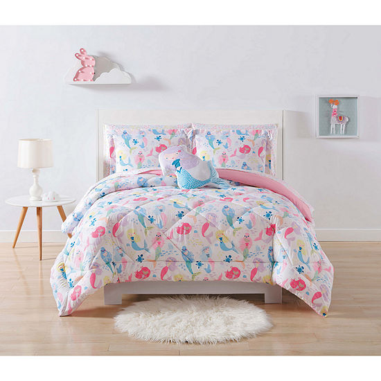 Mermaids 3-pc. Comforter Set