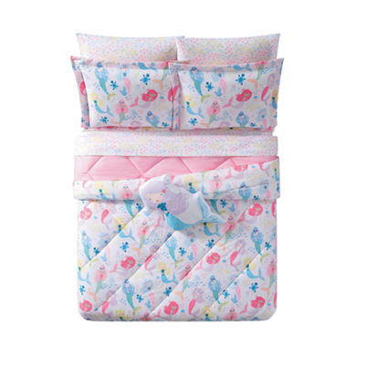 Laura Hart Kids Mermaids 3-pc. Comforter Set