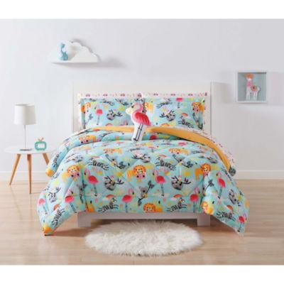 Laura Hart Kids Party Animals Lightweight Hypoallergenic Comforter Set