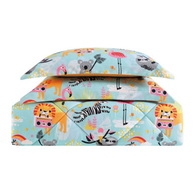Laura Hart Kids Party Animals Lightweight Comforter Set