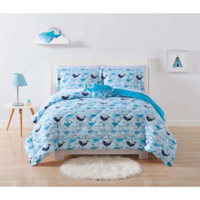 Laura Hart Kids Deep Blue Sea Lightweight Hypoallergenic Comforter Set