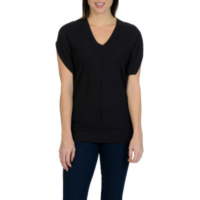 Harve Benard Cut Out Knit Top