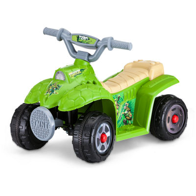 Kid Trax Teenage Mutant Ninja Turtles 6 Volt Toddler Quad Electric Ride-On