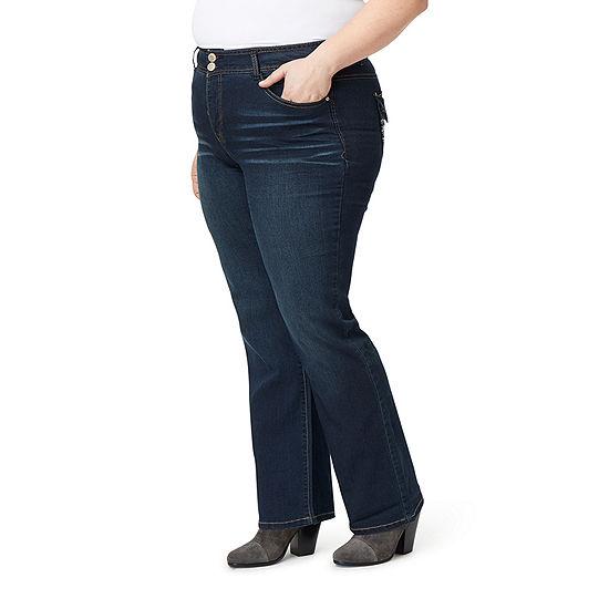 Angels Tummy Tech Modern Fit Bootcut Jeans - Plus