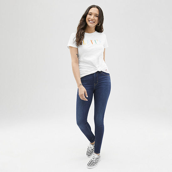 Spring Fashion: Levi's Tee with Skinny Jean
