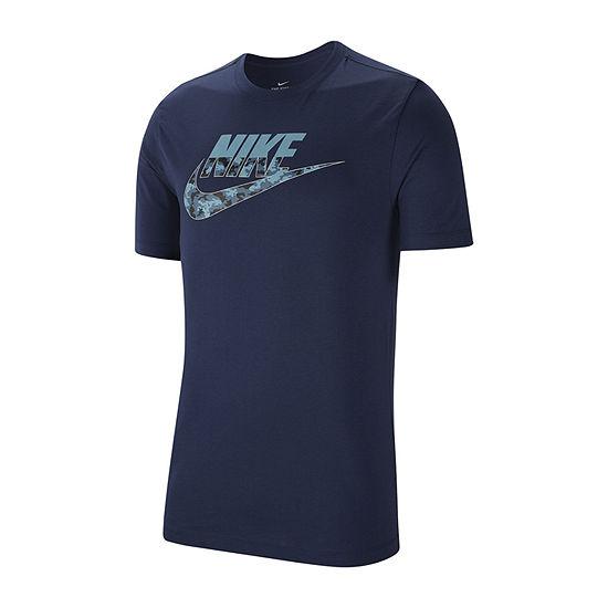Nike Mens Crew Neck Short Sleeve Moisture Wicking T-Shirt