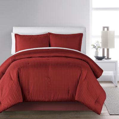 Liz Claiborne Classics Damask 3-pc. Lightweight Comforter Set