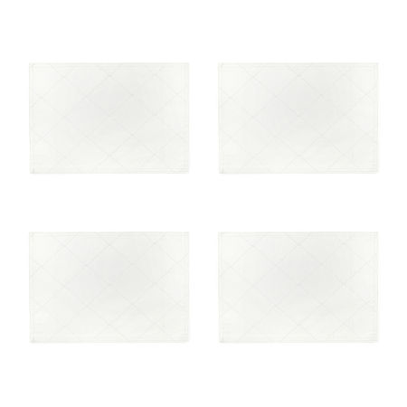 Homewear Cascading Diamond 4-pc. Placemat, One Size , Beige