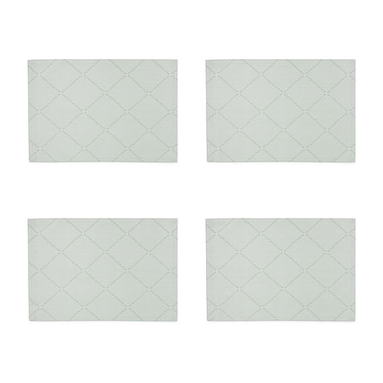 Homewear Cascading Diamond 4-pc. Placemat