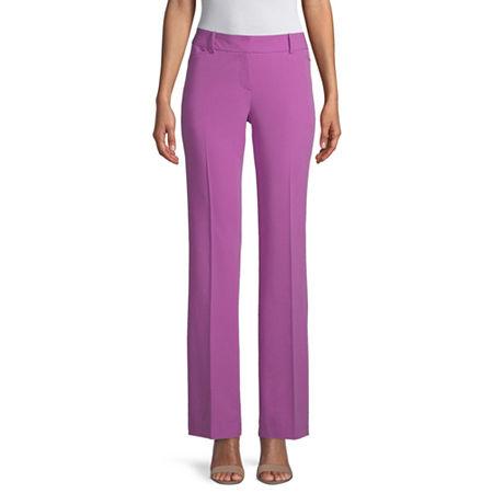 Worthington Modern Fit Straight Trouser, 2 , Purple