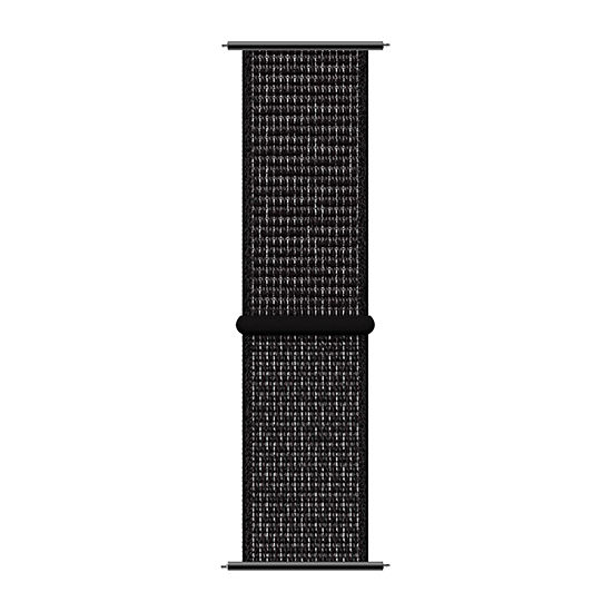 Itouch Sport Mens Black Watch Band-Itspstrnyl-003