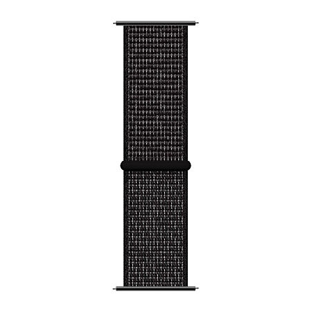 Itouch Sport Mens Black Watch Band-Itspstrnyl-003, One Size , No Color Family