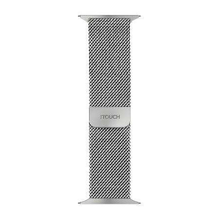 Itouch Sport Mens Silver Tone Watch Band-Itspstrste-004, One Size , No Color Family