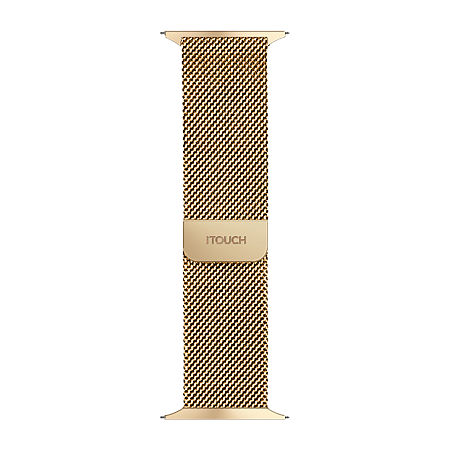 Itouch Sport Mens Gold Tone Watch Band-Itspstrste-005, One Size , No Color Family