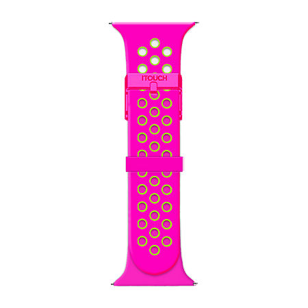 Itouch Air Se/Air 2 Womens Two Tone Watch Band-Ita2sestrpef-Q21, One Size , No Color Family