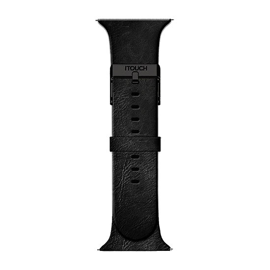 Itouch Air Se/Air 2 Mens Black Watch Band-Ita2sestrpul-003