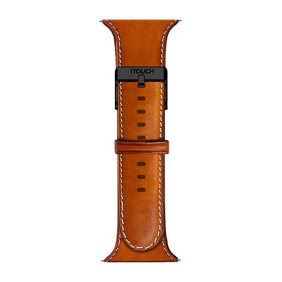 Itouch Air Se/Air 2 Mens Brown Watch Band-Ita2sestrpum-Cgn
