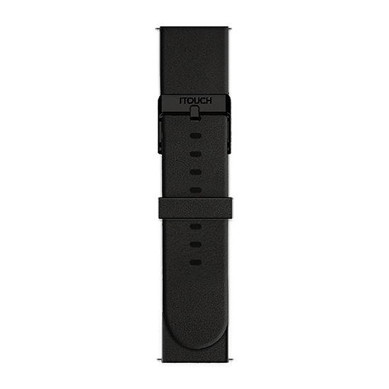 Itouch Air Se/Air 2 Mens Black Watch Band-Ita2sestrrub-003