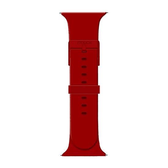 Itouch Air Se/Air 2 Womens Red Watch Band-Ita2sestrrub-033