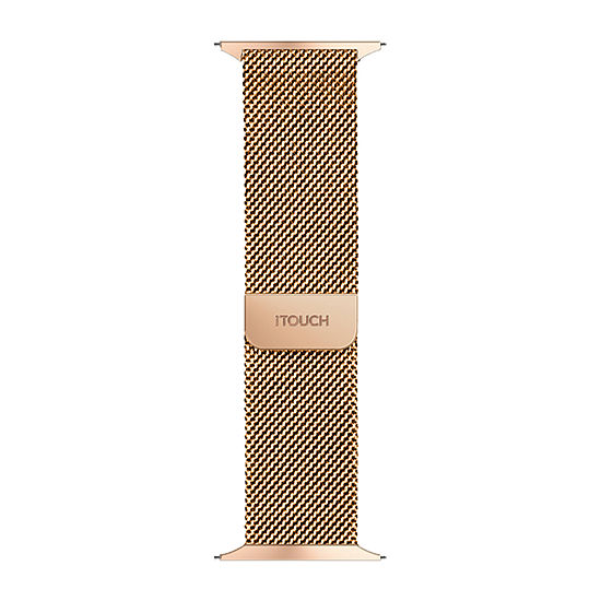 Itouch Air Se/Air 2 Mens Rose Goldtone Watch Band-Ita2sestrste-228