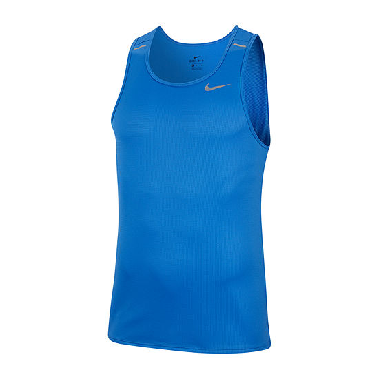 Nike Mens Crew Neck Sleeveless Moisture Wicking Tank Top