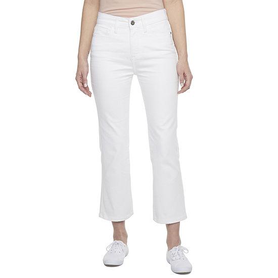 St. John's Bay Mid Rise Cropped Pants