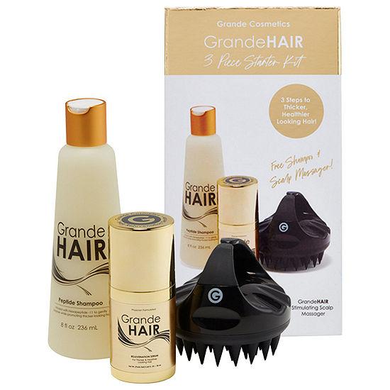 Grande Cosmetics GrandeHAIR Shampoo & Hair Serum Starter Set