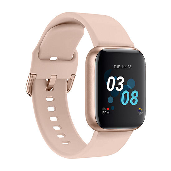iTouch Air 3 for Women: Rose Gold Case with Blush Strap Smartwatch (40mm) 500009R-0-51-C12