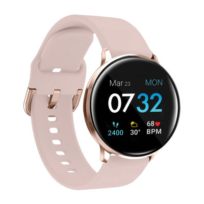 iTouch Sport 3 for Women: Rose Gold Case with Blush Strap Smartwatch (45mm) 500015R-51-C12