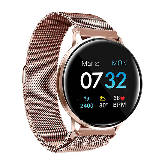 Itouch Sport 3 Unisex Adult Rose Goldtone Stainless Steel Smart Watch-500014r-51-C29