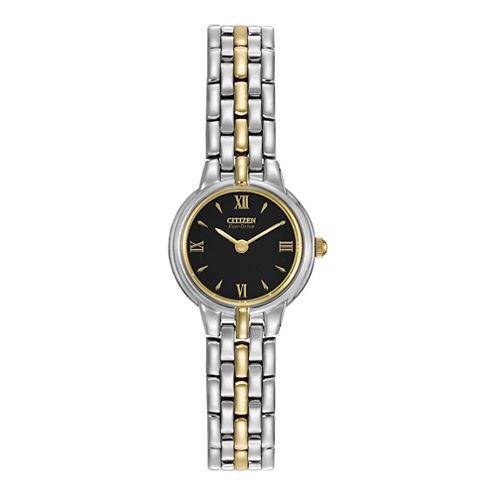 Citizen® Eco-Drive® Mens Two-Tone Watch EW9334-52E