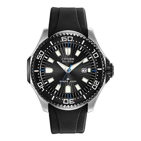 Citizen Promaster Diver Mens Black Strap Watch-Bn0085-01e