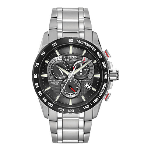 Citizen® Eco-Drive® Mens Stainless Steel Watch AT4008-51E