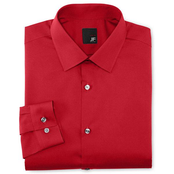 J ferrar super slim fit easy care dress shirt for Super slim dress shirts