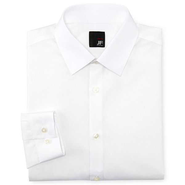JF J. Ferrar® Easy-Care Dress Shirt - Super Slim
