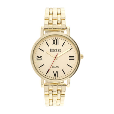 Decree® Womens Bracelet Watch