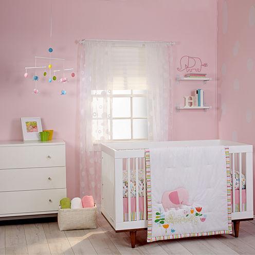 NoJo® Zutano Blue Elephantasia 5-pc. Crib Bedding Set