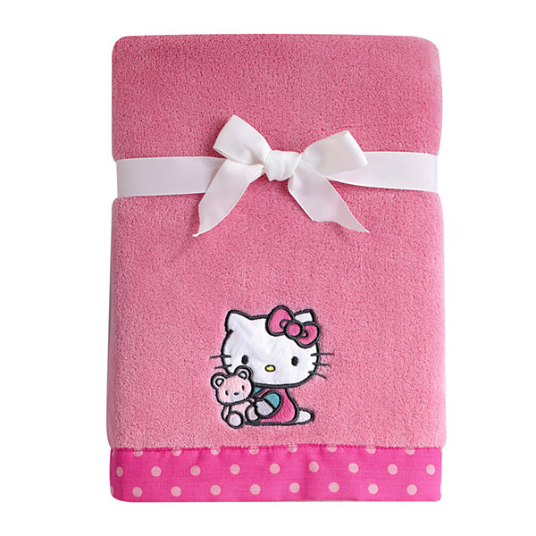 NoJo® Sanrio - Hello Kitty Fleece Blanket Comforters